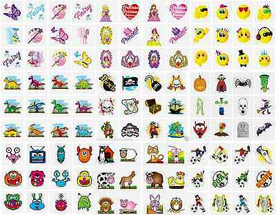 144 x MIXED TATTOOS CHILDRENS TEMPORARY BODY ART SCHOOL FAIR FETES PARTY BAGS