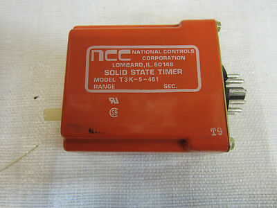 Ncc Solid-State Timer T3K-5-461 (Used)