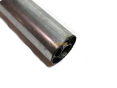 """WELD-ON 4/"""" Dia 48mm 16/"""" Universal Exhaust Silencer"""