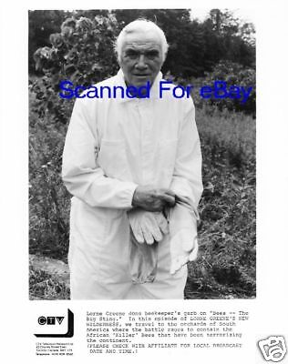 LORNE GREENE Fantastic TV Photo NEW WILDERNESS