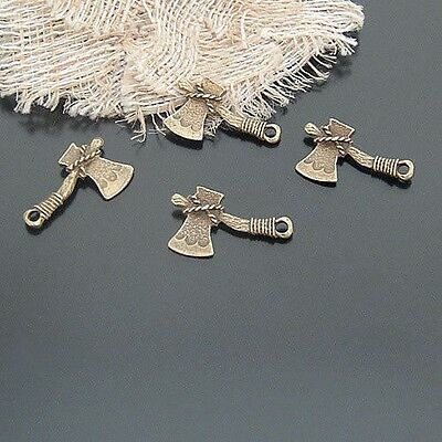 20939 Antique style bronze alloy Tinker Bell's axe pendants charms 30pcs