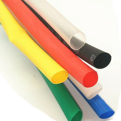 5m BLUE 25mm Inner Diameter Insulation Heat Shrink Tubing Wire Cable Wrap