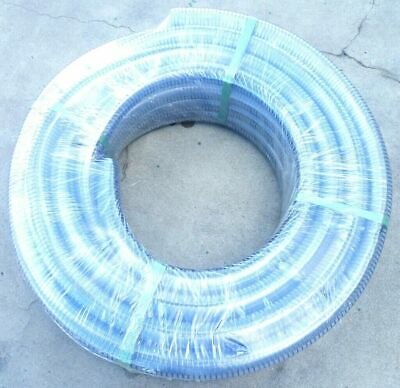 """Food Grade clear PVC non-toxic Steel Wire helix Suction Hose 38mm 1 1/2"""" spiral"""