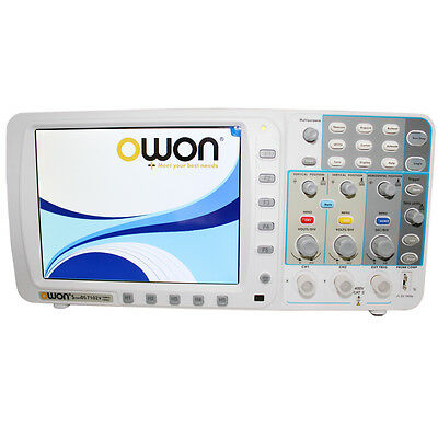 "New OWON 100Mhz Oscilloscope SDS7102 1G/s large 8"" LCD LAN VGA included 3 yrs DE"