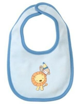 Gymboree Brand New Baby Lion Reversible Bib Nwt