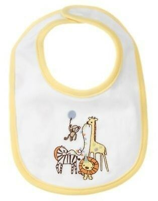 Gymboree Brand New Baby Animals Unisex Reversible Bib Nwt