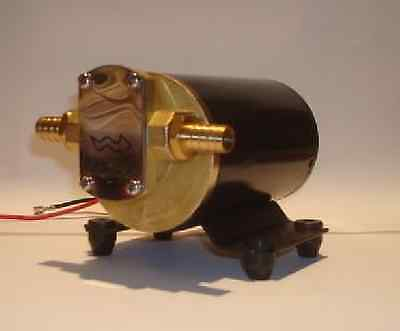 NEW Electric Oil Scavenge Pump for Remote Low Rear Mount Turbo Return Line 12v
