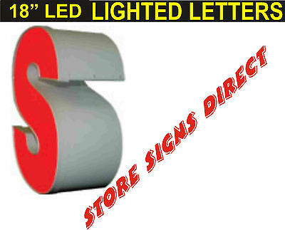 """18"""" LED Lighted Channel Letters Store signs"""