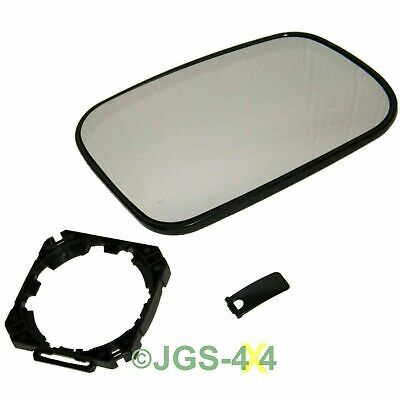Land Rover Discovery 2 Right Hand Door Wing Mirror Glass And Mount - CRD100640