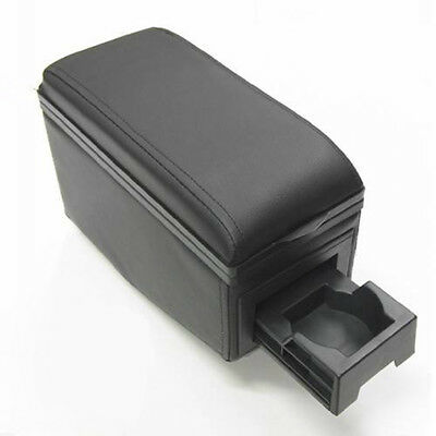 Universal Armrest Centre Console Fits Peugeot 104 205 208 Black Arm Rest Box