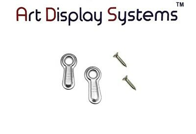 """ART DISPLAY SYSTEMS PICTURE FRAME RIDGED 3//4/"""" TURN BUTTONS #6-3//8/"""" SCREWS 300//pk"""