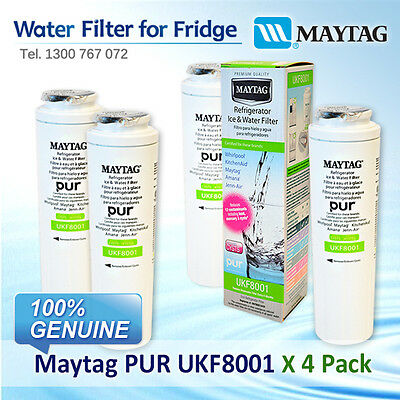 4xAmana Maytag Jenn-Air Puriclean II Filter UKF8001AXX 100% GENUINE