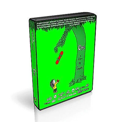 One by Givin Snowboard Gnarly DVD Multi region New