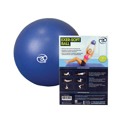 "Fitness Mad Pilates 7"" Core Strength & Pelvic Exer-Soft Gym/Home Workout Ball"