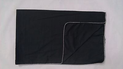 BLACK COTTON FENDER COVER  36x60- MADE IN THE USA