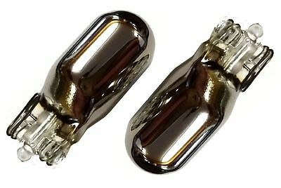 CHROME SIDE REPEATER INDICATOR BULBS FOR Ford Fiesta 501 W5W T10