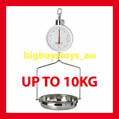 Hanging Scales With Dish Bowl Ideal For Fruits And Grains 10Kg Capacity