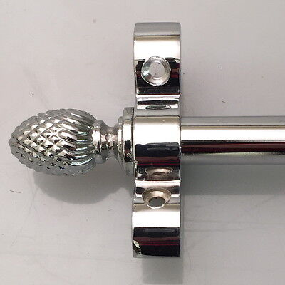"""POLISHED  CHROME STAIR RODS 36/"""" SET OF 13  BALL FINIAL R03LB"""