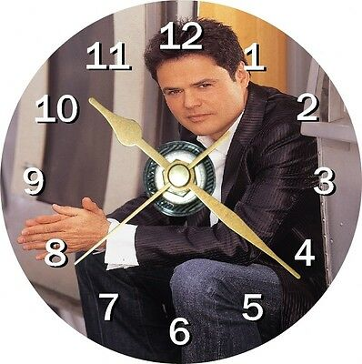 Donny Osmond Novelty Cd Clock Can be personalised