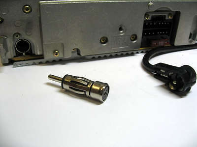 Car Aerial / Antenna Adaptor Car Radio ISO to DIN FOR PANASONIC CLARION PIONEER