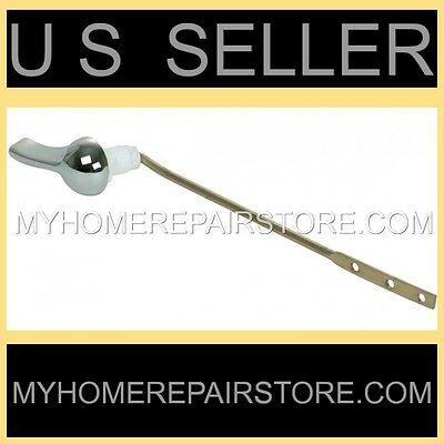 Free S&H! Save Water! Universal Chrome Toilet Tank Flush Lever Handle 8 Inch Arm