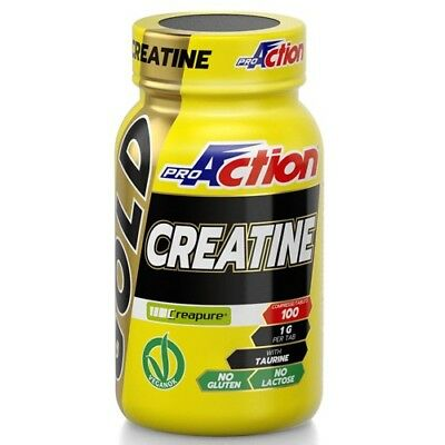 Proaction Promuscle - Creatine Tablets - 100 Cpr. Creatina e Taurina