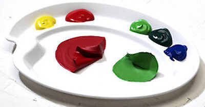 Mijello Ellipse Peel Off Acrylic & Oil Palette - 190 x 260 mm