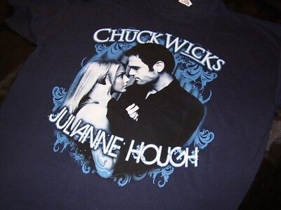 Julianne Hough & Chuck Wicks *Two Large Dancing Shirts!