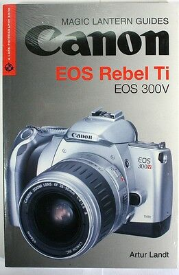 USER'S GUIDE-CANON EOS 100 Elan Camera by Tom Maskell-Hove