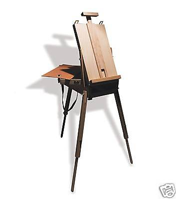 Reeves Artists Wooden Sketch Box Easel ( Floorstanding )