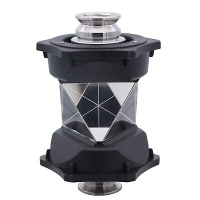 NEW 360 degree Prism with protective  cover Both 5/8-Female for topcon sokkia