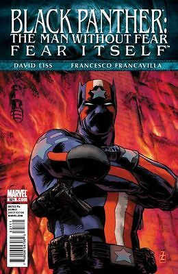 Black Panther #521 Fear Itself Vf/nm