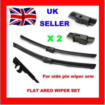 ALFA ROMEO 159 2005-ON Front Windscreen Specific Aero Flat Wiper Blades 22/18