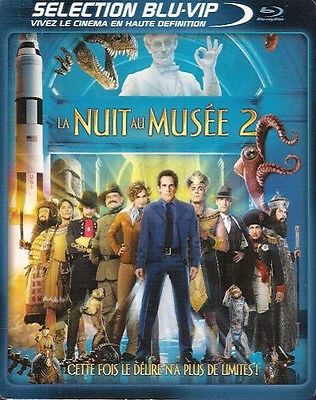 3234 // La Nuit Au Musee 2  Combo Pack 2 Dvd + Blu-Ray Neuf  Blister