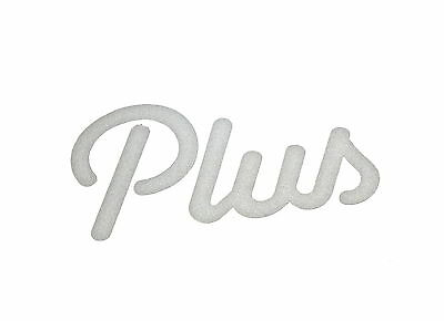 Genuine New FORD PLUS DECAL For Escort Popular XR3i Ghia SE RS Cosworth 85-87