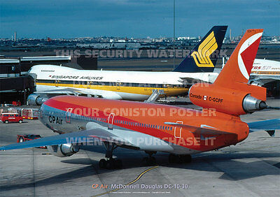 Cp Air Canadian Pacific Md Dc-10 Dc10 A3 Poster Print Picture Photo