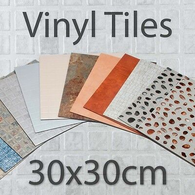 2M- Any Size Quality Vinyl Flooring Tiles Non Slip Kitchen Bathroom Lino Cushion