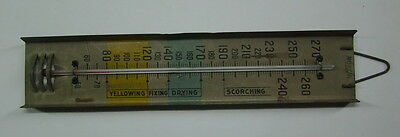ANTIQUE AMERICAN ST LOUIS THERMOMETER