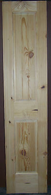 "Knotty Pine 2 Panel Interior Door Raised Panel V-Grooved Panels 18""x80""x1-3/8"""