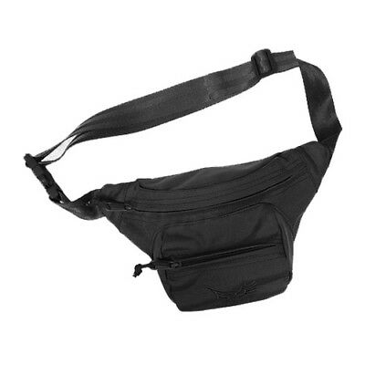 Flyye Low-Pitched Waist Fanny Pack Hiking Travel Belt Bum Bag Cordura Black