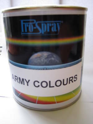 Gloss Army Colours Spray MILITARY PAINT 2.5L GREEN SAND