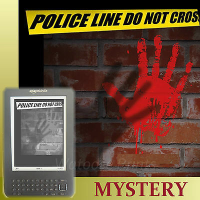 MYSTERY CRIME 5200 eBooks for iPad & Kindle mobi epub Novels Thriller Books DVD