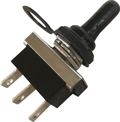 Waterproof Toggle Flick Switch 12V ON/OFF Car Dash Light Metal 12 Volt