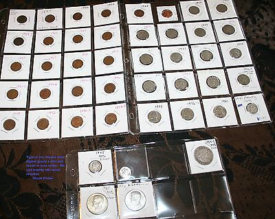 United States Coin Wholesale Lot Of Coins With Silver Gaurenteed Below Redbook