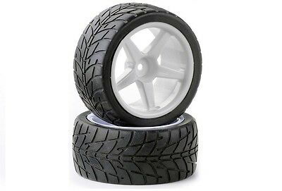 Acme Condor PRO 1/10 Buggy Rear Wheels with On Road Firm Tyres