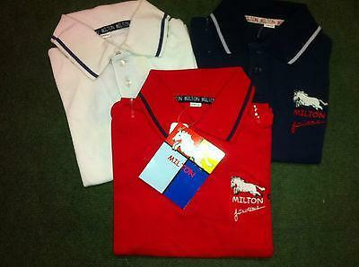 John Whittaker Milton Childs Polo Shirts ***SAVE £20 OFF RRP***