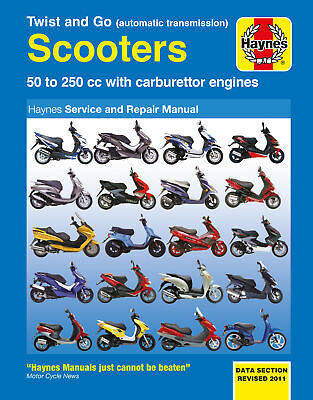 New Haynes Manual Peugeot Looxor 125 2004