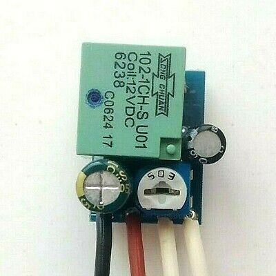 Small Smd Delay Stop Timer Switch Time Relay 1 To 145 Sec Kit 10A  12V