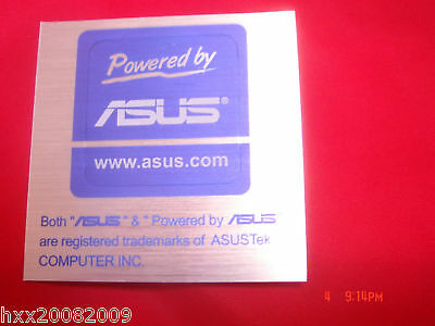 2PCS x ASUS Sticker Powered by  For PC  (20*20mm)