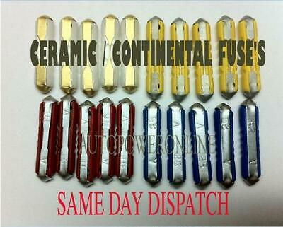 Ceramic / Continental Fuse For Vw Beetle Old Style Classic Car Fuses 12V 5/8/16/